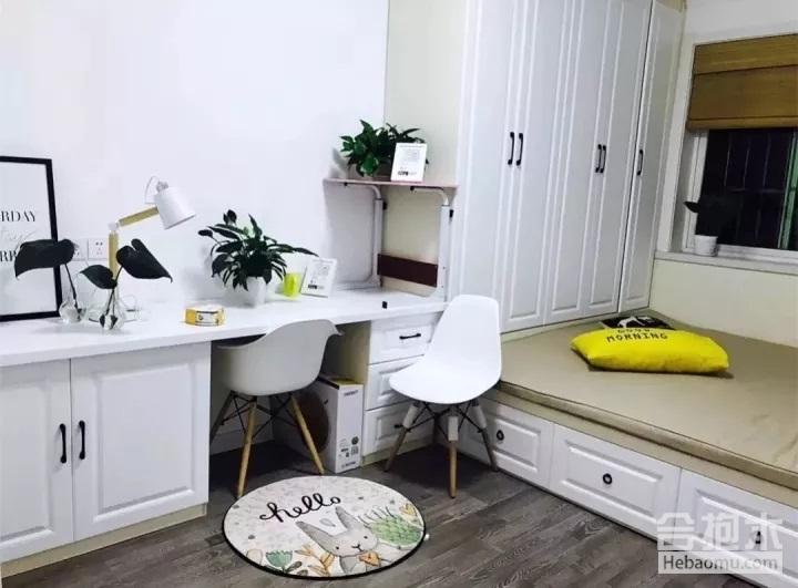 小户型家装设计,榻榻米床柜一体,榻榻米,