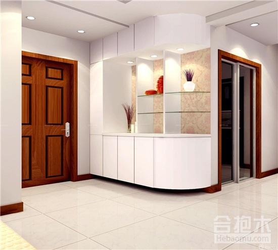 装饰公司,一进门鞋柜设计效果图,进门鞋柜,