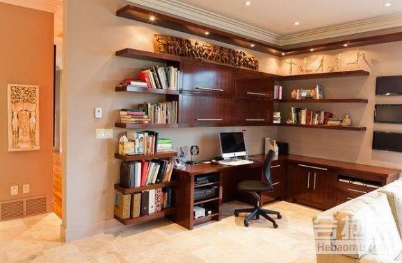 書房怎么放床,裝修公司,書房,