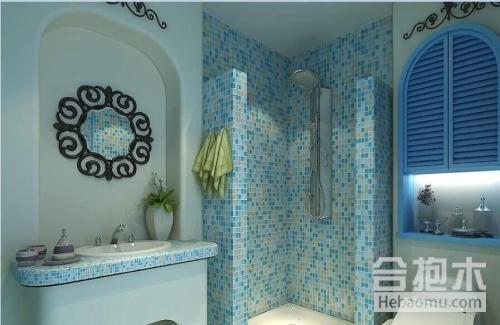 地中海风格,卫生间设计,