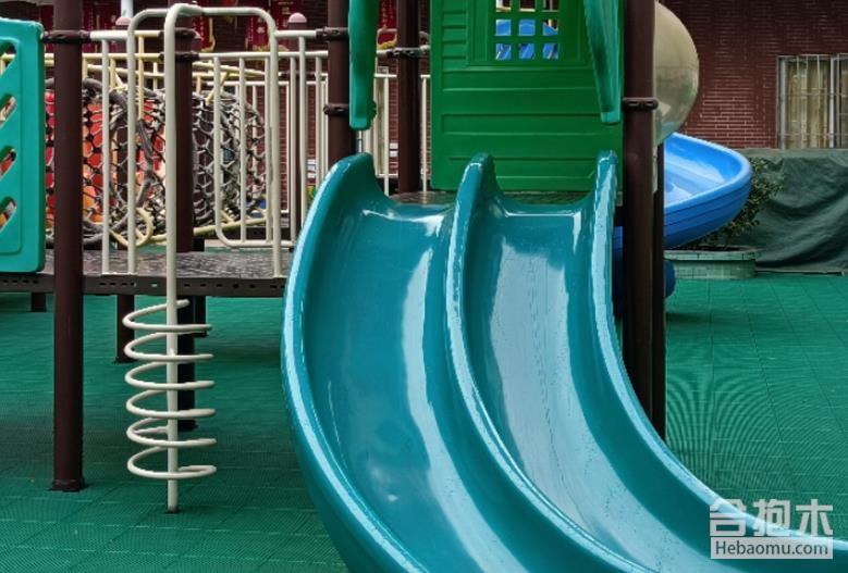 幼儿园滑梯设备,幼儿园滑梯,