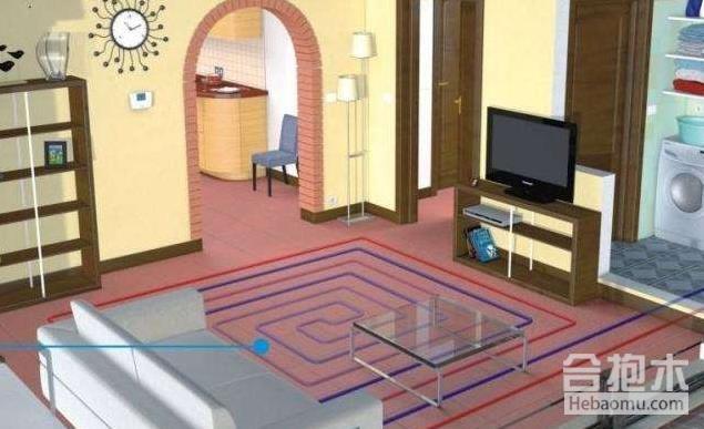 装修公司,地暖安装,地暖,