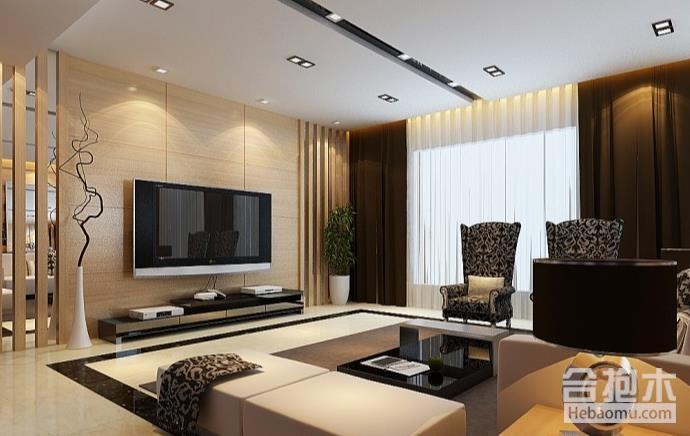 房屋裝修,客廳影視墻,客廳,