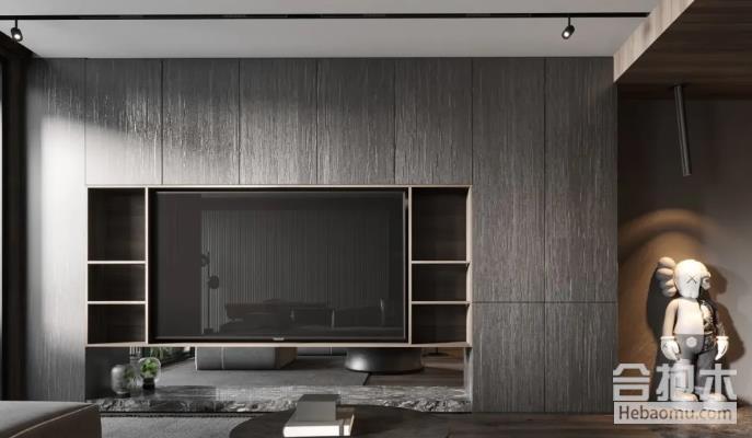 广州装修,电视背景墙,