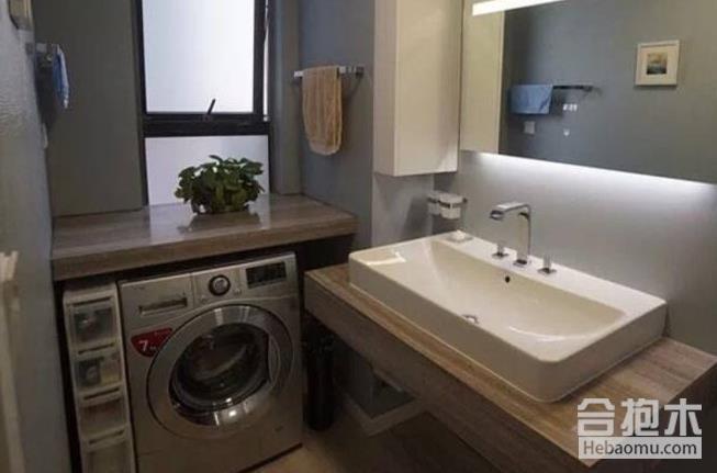 装修公司,把洗衣机放卫生间好吗,洗衣机,