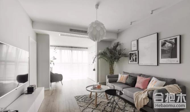 裝修公司,90平米两居室,90平米,