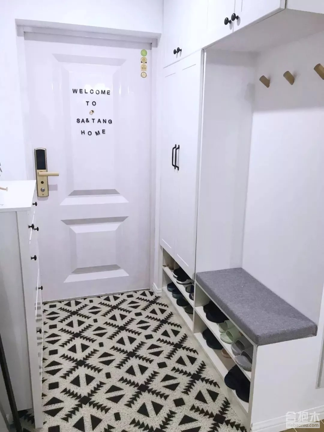 玄关装修效果图,小户型房子,玄关装修,