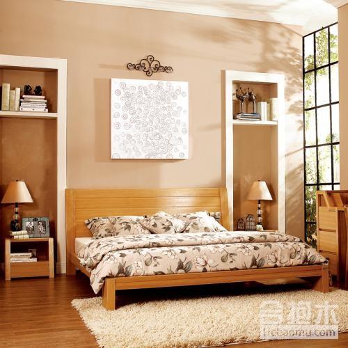 装饰公司,双人床实木床,实木床,