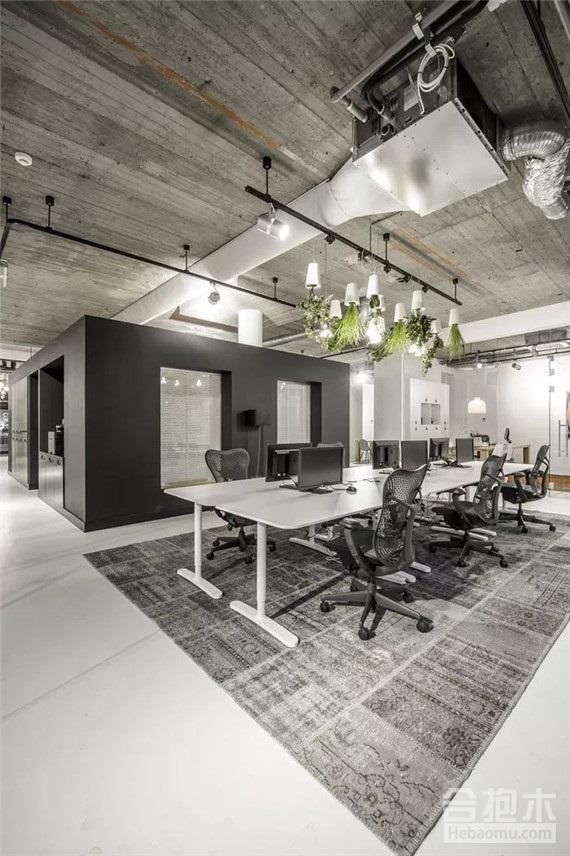 办公室装修实景图,办公空间装修,办公室,