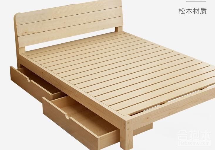 雙人床實木床,裝修公司,雙人床,