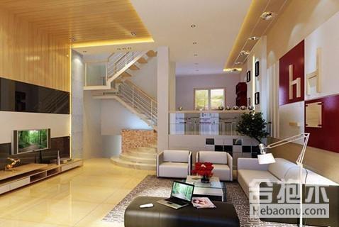 復式樓裝修,客廳裝修效果圖,客廳裝修,