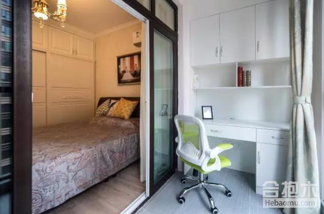 10bet十博,多功能书房兼卧室一体,书房,