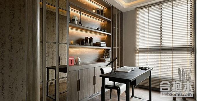 广州装修公司为您介绍现代简约风格书房设计要点