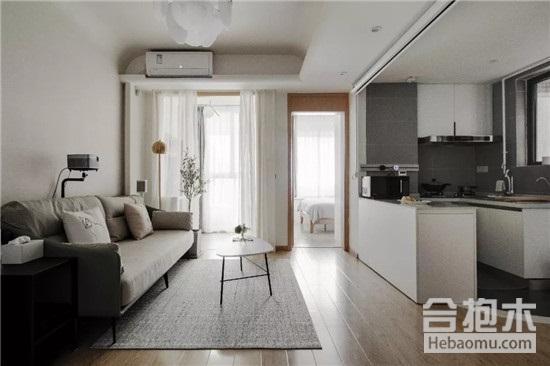 裝修公司,40平米一居室裝修,開放式廚房,
