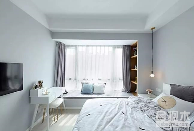 装修公司,卧室飘窗,飘窗装饰,
