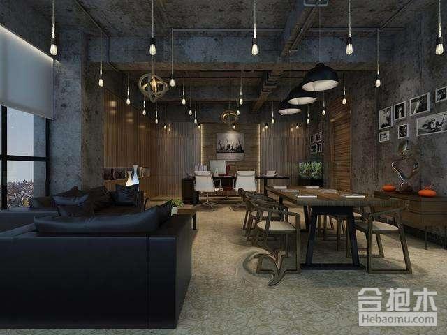 装饰公司,工业风格办公室装修,