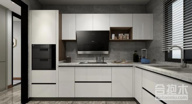 小户型现代厨房装修,电饼铛,