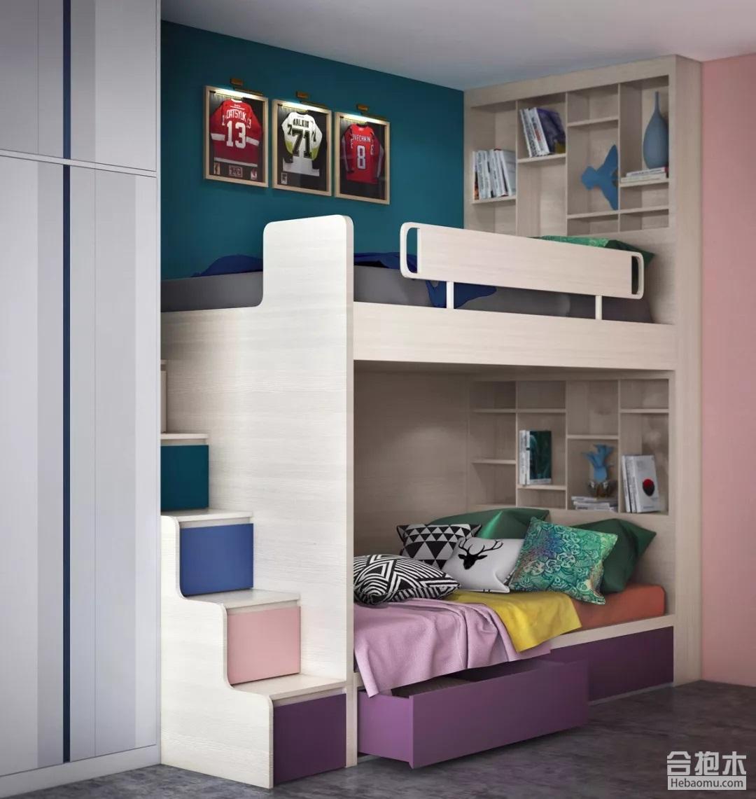 臥室裝修圖,兒童房設計,