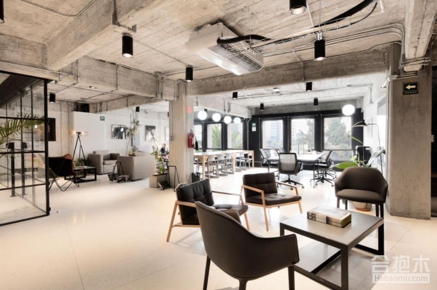 辦公室工業風格裝修,辦公室,工業風格,