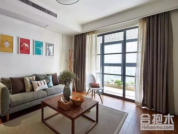 客厅装修,窗帘效果图,装饰公司,