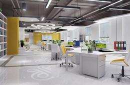 这些办公室裝修效果图值得参考 看裝修公司怎么说