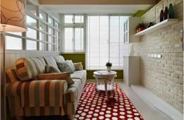 合抱木裝修學堂-【裝修公司】一家三口的簡約田園風兩居室,你相信只有45㎡嗎?