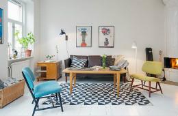 合抱木裝修學堂-【裝修公司】73平米清新混搭風格小公寓,看看是不是你的菜!