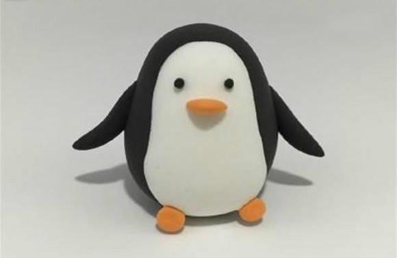 超轻粘土企鹅教程 教你diy超可爱的小企鹅