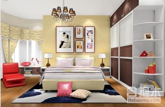 大户型20平米卧室装修案例,温馨舒适又大气