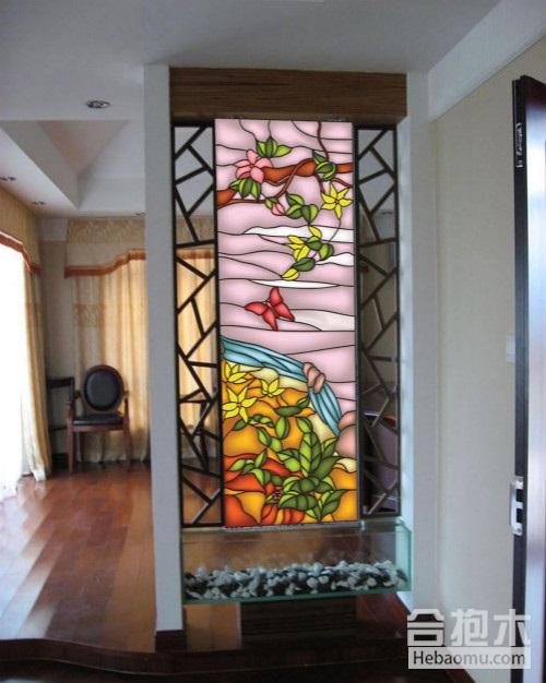 玻璃隔断-彩艺玻璃