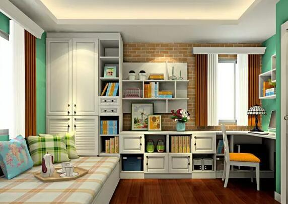 韩式客书房规划
