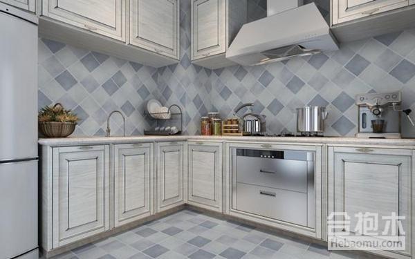 厨房是油烟重地,选对瓷砖让清洁事半功倍