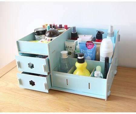 公主风化妆品收纳盒