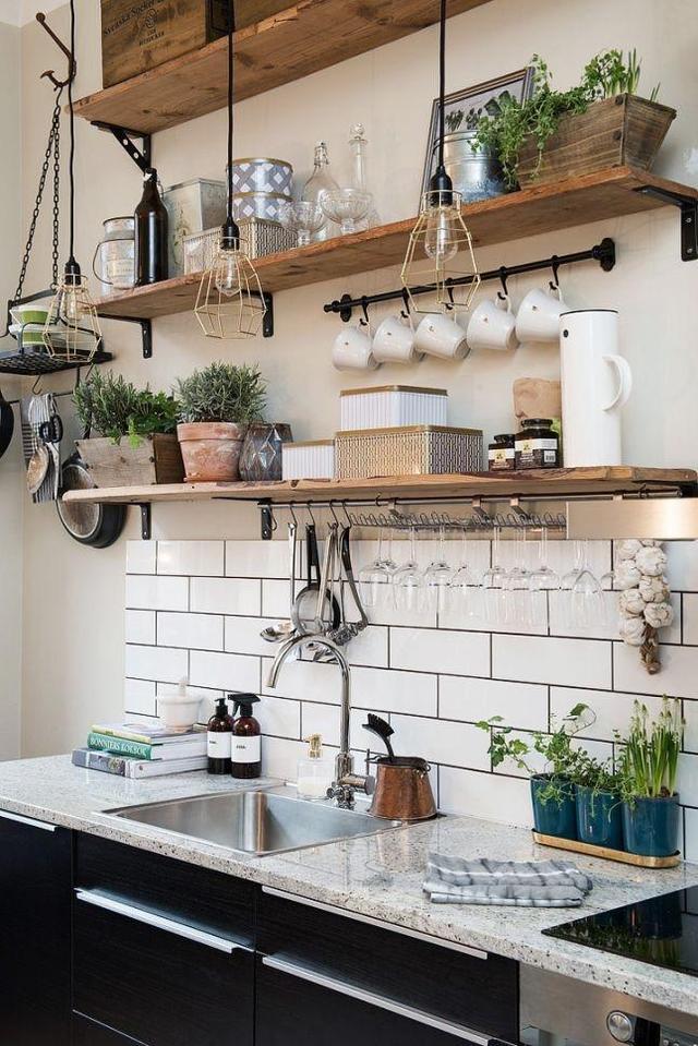 小户型厨房这样设计,立刻多出5㎡