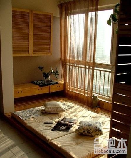 局部改造飄窗案例圖,讓兩居室輕松擴容