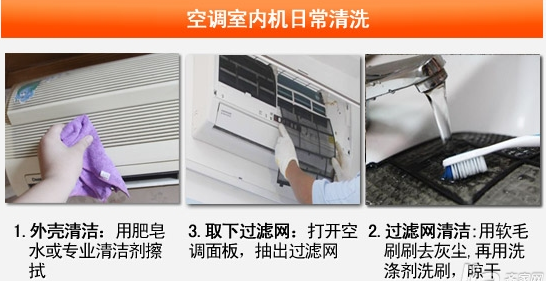 空调室内机怎么拆 空调室内机的清洗