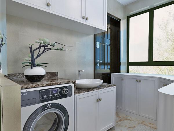 定制阳台洗衣柜 让生活舒适十倍