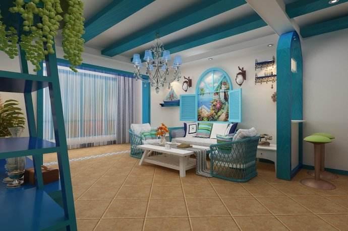 装修风格 | 地中海风演绎白+蓝的浪漫