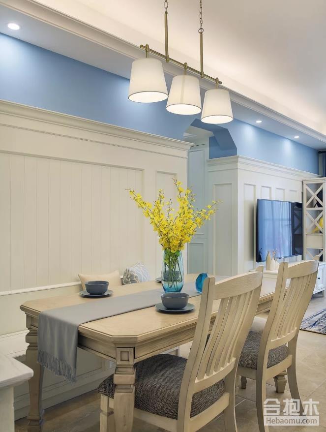 美式风格三房装修案例