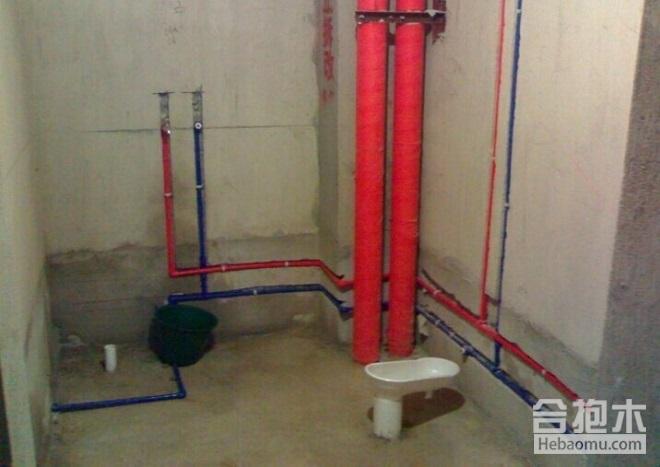 装修公司在安装卫生间水电注意事项