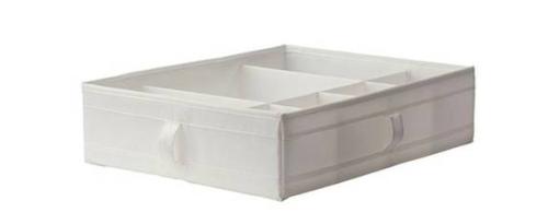 ▲IKEA/宜家 思库布带格储物盒 | 参考价格:29.8 元