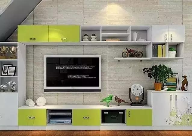 华丽的电视墙