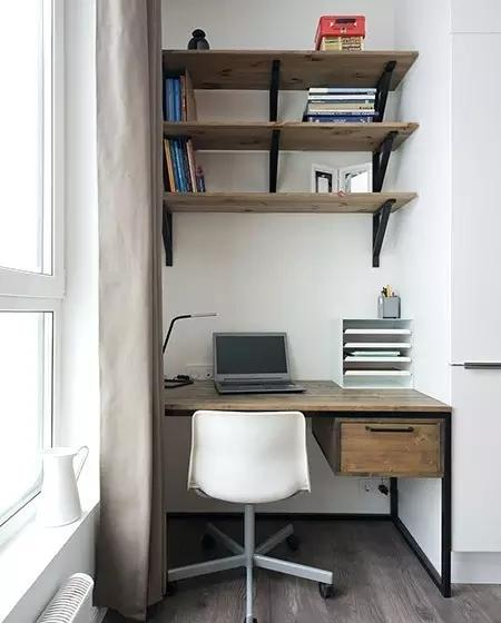 这套35平的小公寓装的真好 收纳设计爆棚了!
