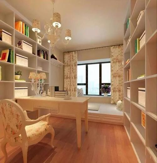 书房要这么装,才能高大上!