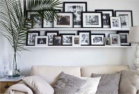 合抱木家居資訊-照片墻打造全攻略!讓你家的墻面不將就