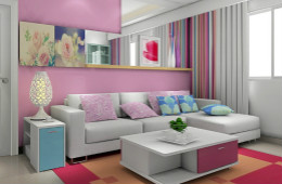 合抱木家居资讯-房屋色彩风水知识,粉色并不一定会旺桃花哦!