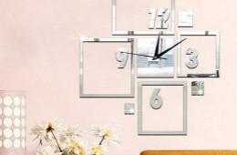 合抱木装修流程-四种个性创意挂钟,为客厅增添别样气质