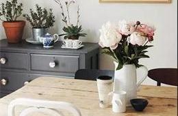 合抱木家居資訊-視覺情書:不同居室鮮花擺放原則