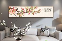 合抱木家居資訊-裝修公司告訴你:家居刺繡掛畫的小竅門