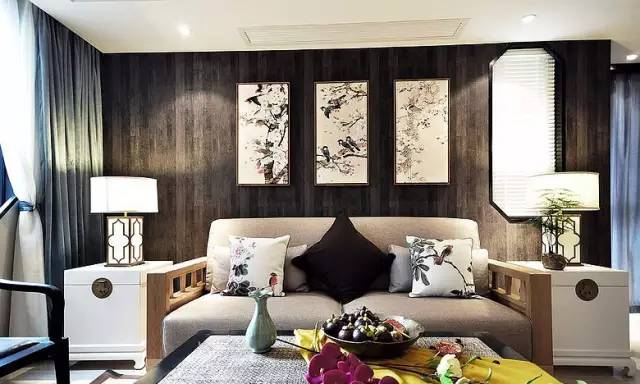 合抱木家居資訊-120平新中式風,果然還是經典的最美!